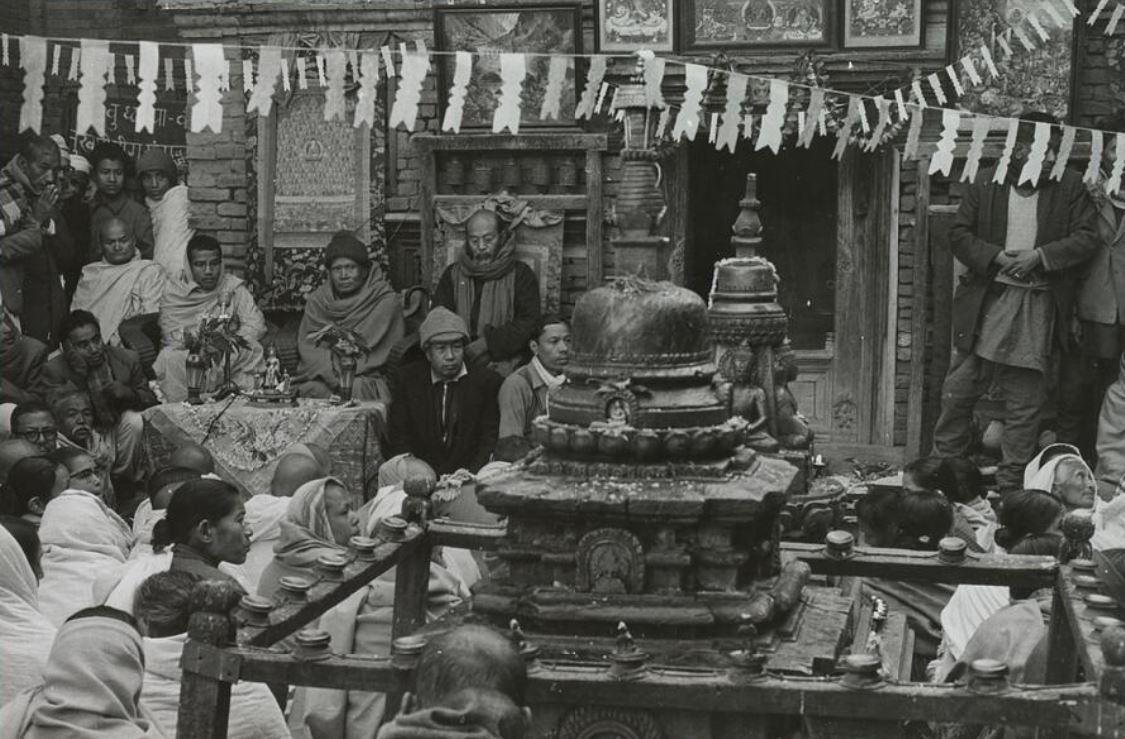 photo ancienne Népal