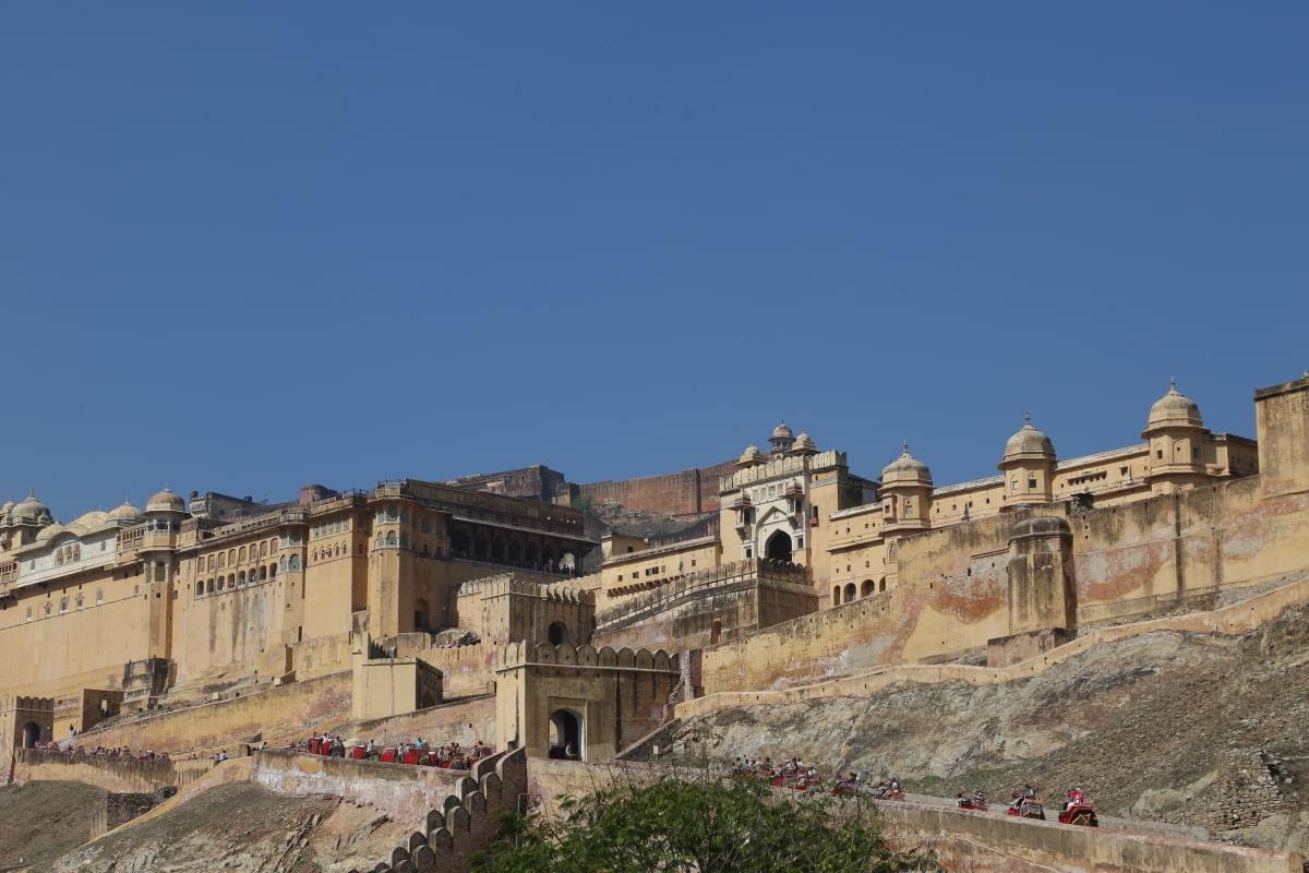Jaipur Inde Rajasthan Mes Indes Galantes
