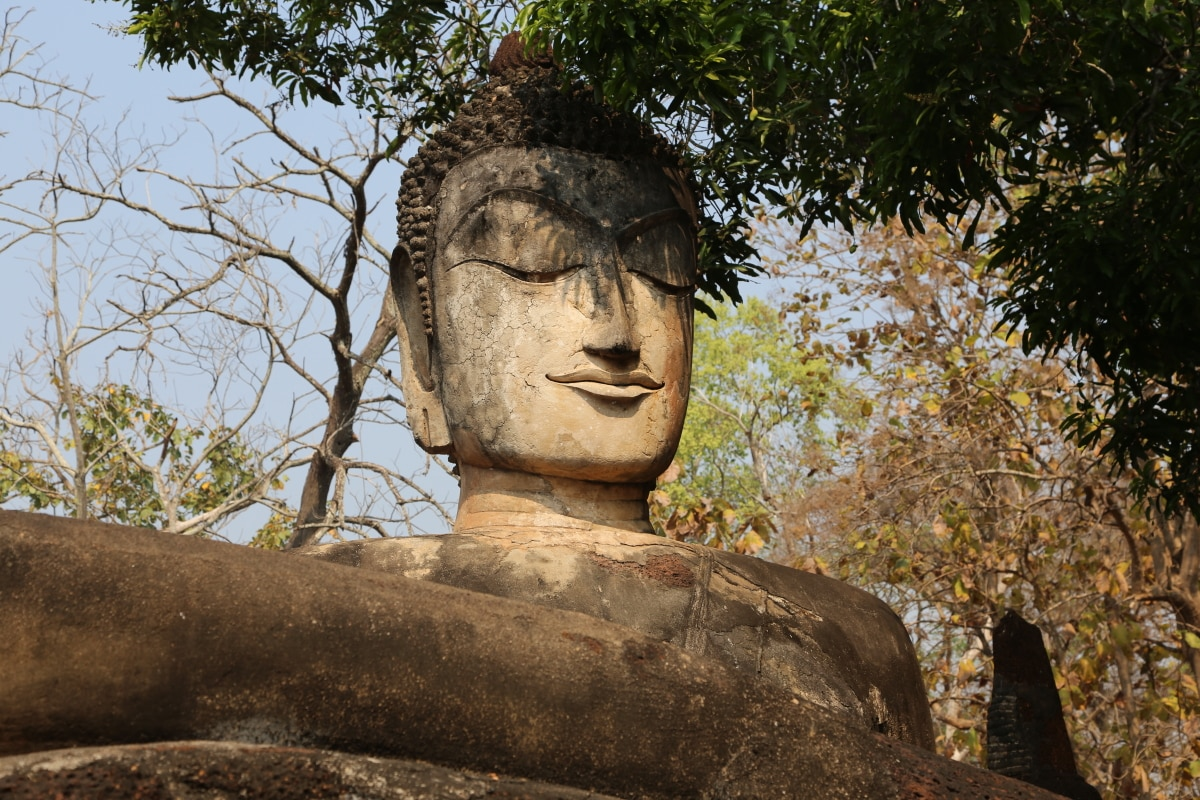 Sukhothaï Thaïlande Bouddhisme