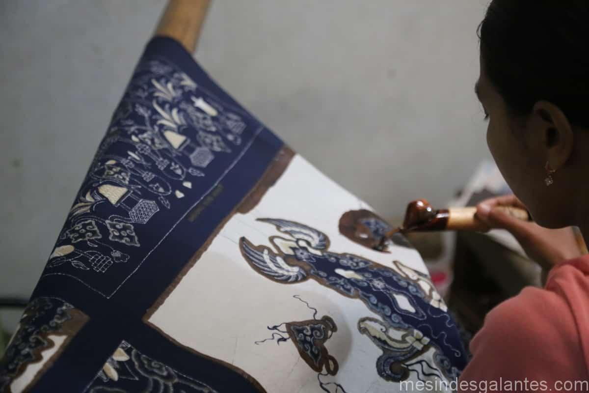 Batik indonésien Indonésie Technique d'impression Patrimoine immatériel