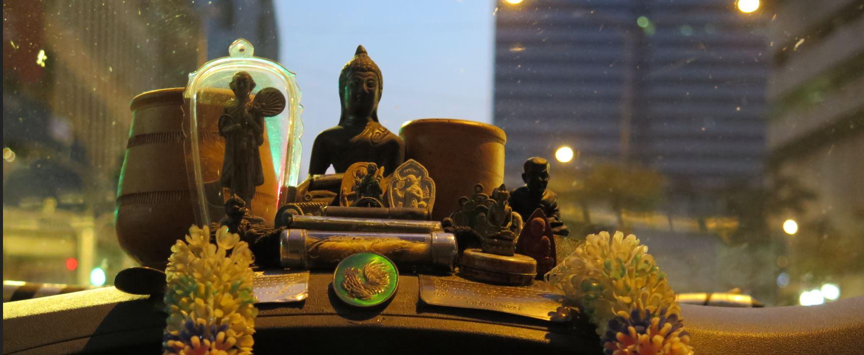 amulette thai taxi bangkok achat