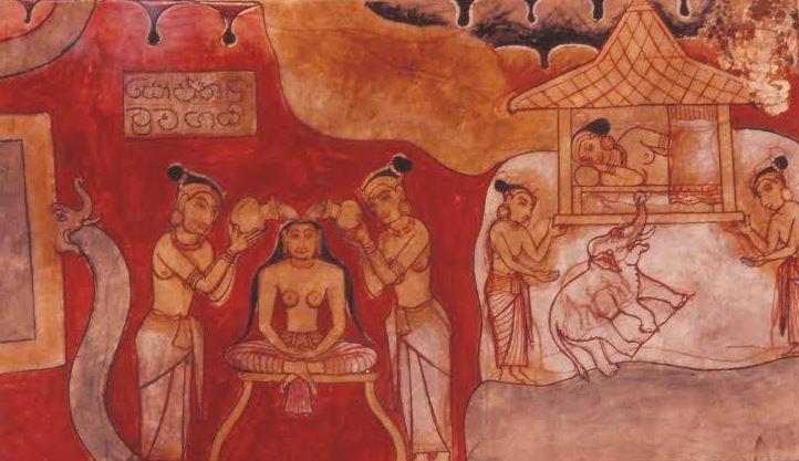 éléphant bouddha maya