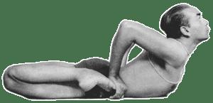 posture grenouille yoga