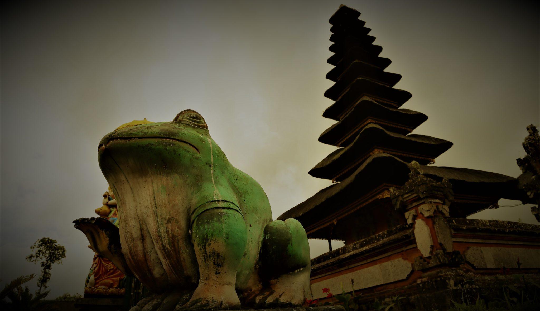 bali grenouille temple