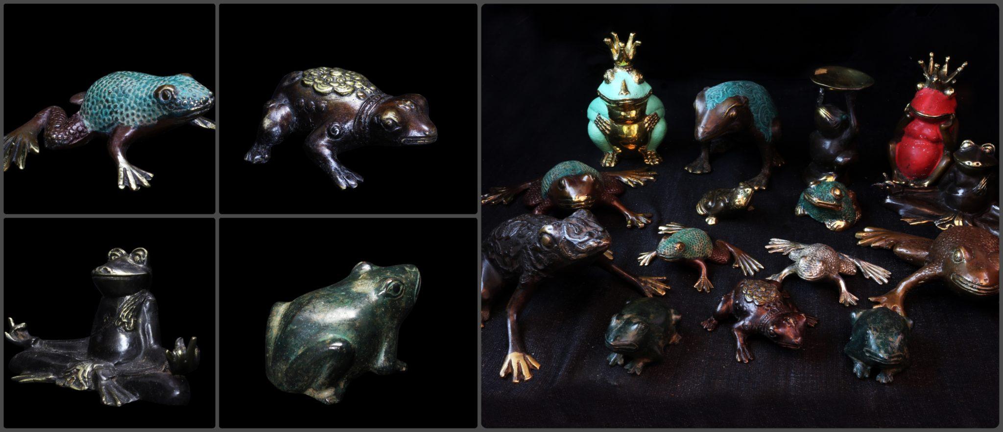 grenouille statue statuette achat paris pas cher mes indes galantes