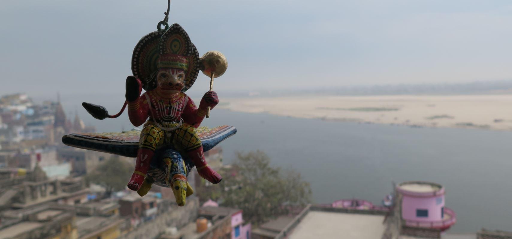 statue hanuman benares