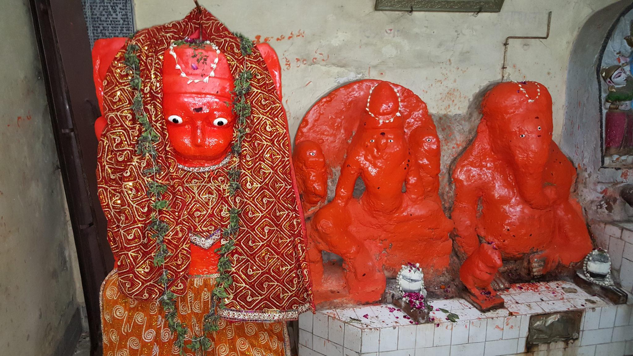 Hanuman Bénarès dieu singe Ramayana