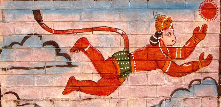 Dieu singe Ramayana Soleil