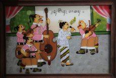 Lukisan Kaca, la peinture sur verre de Java