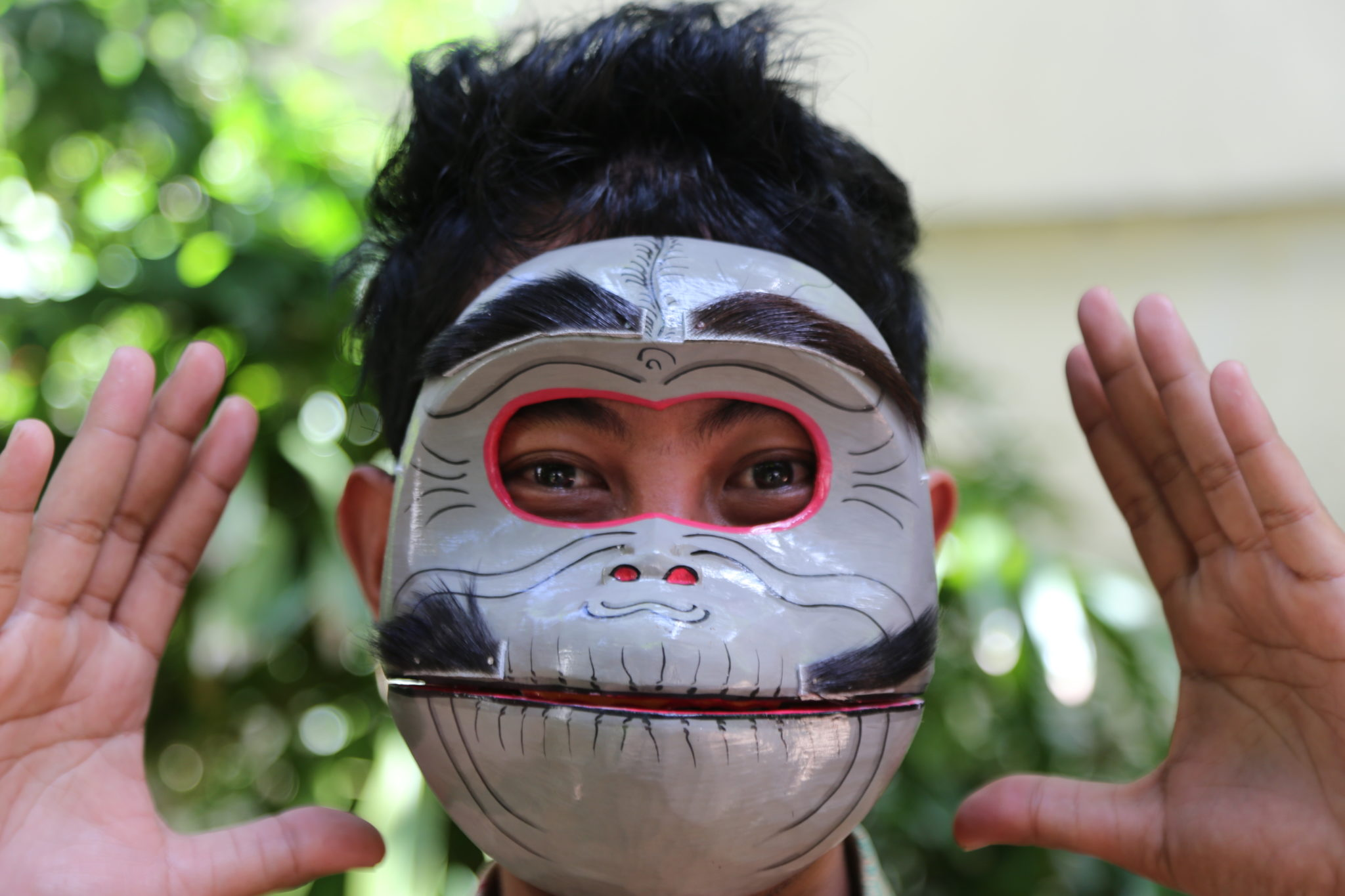 topeng masque grenouille bali achat MES INDES GALANTES