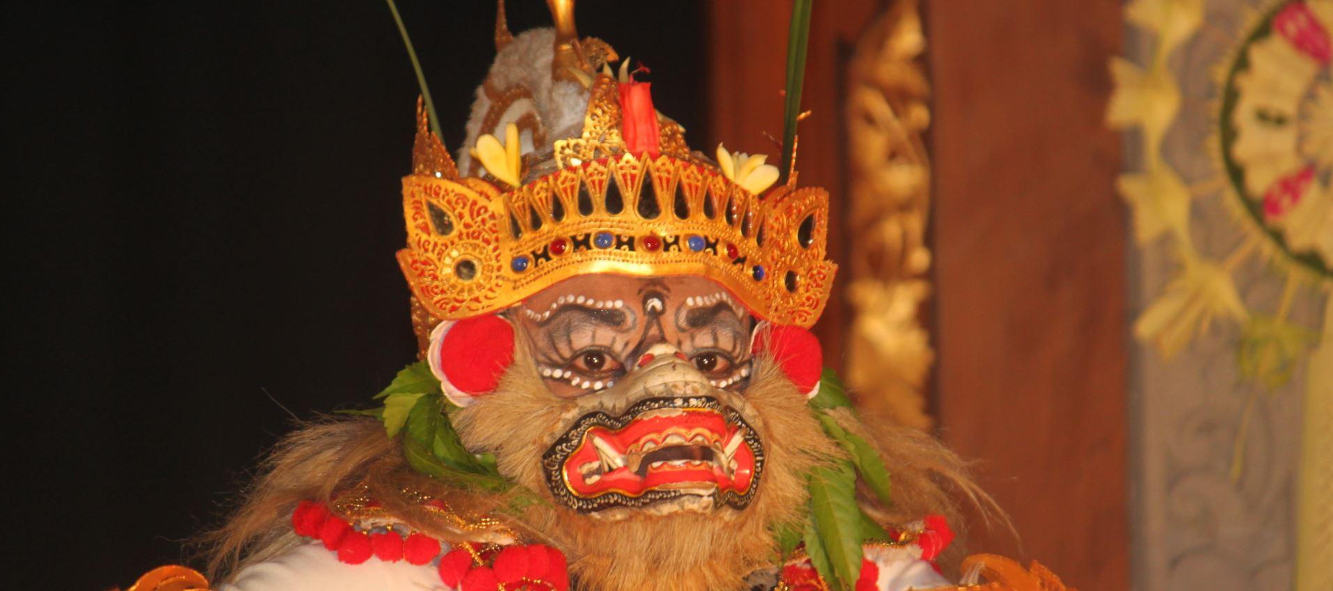 masque hanuman topeng bali dieu singe Ramayana