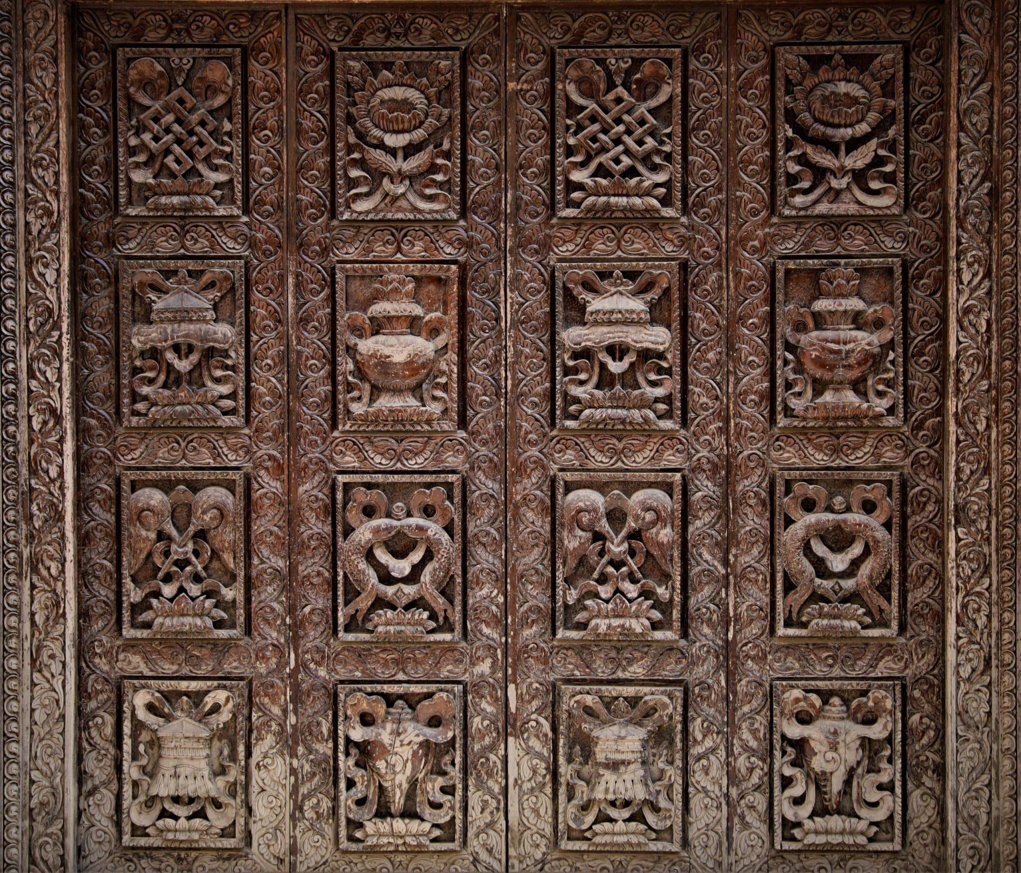 Lotus Ashtamangala Bouddhisme Mes Indes Galantes
