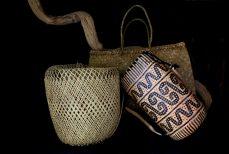 L'art de la vannerie à Bornéo, le panier Dayak