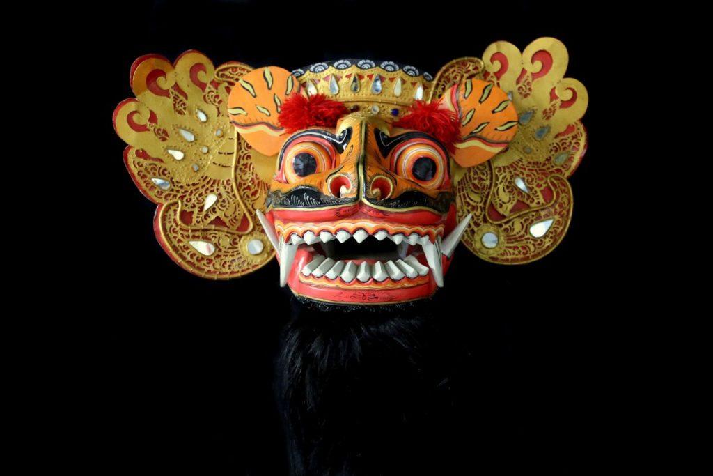 masque Barong topeng  Mes Indes Galantes