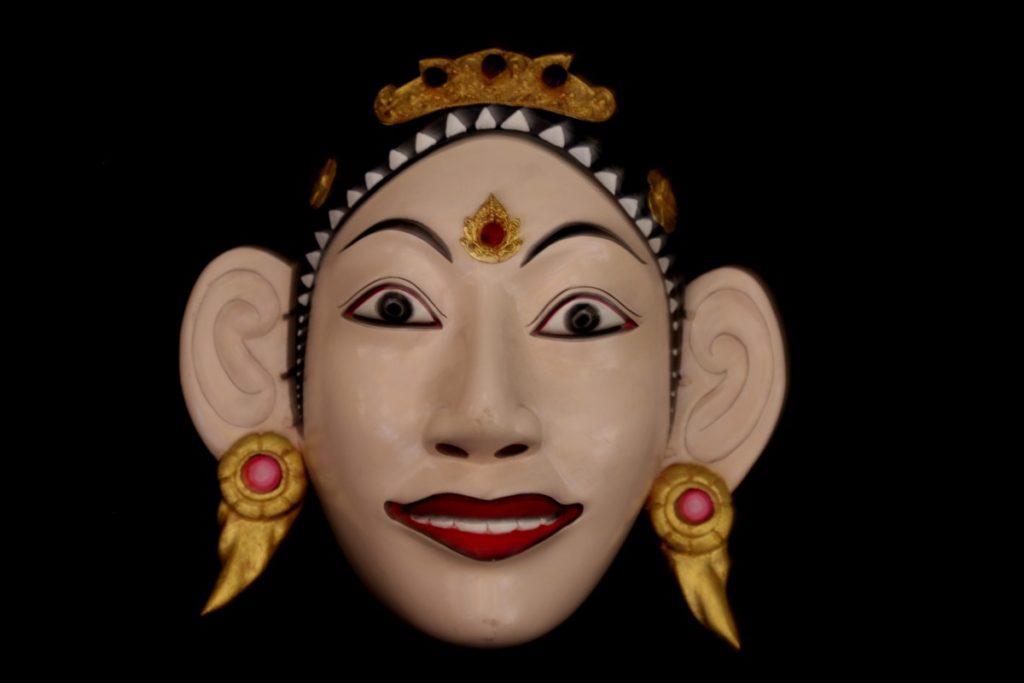 Topeng - Masque de Galuh - Mes Indes Galantes
