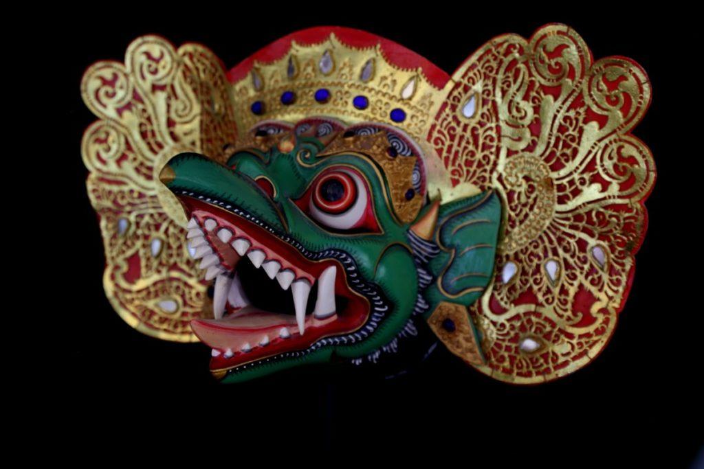Masque de Garuda - Topeng - Mes Indes Galantes