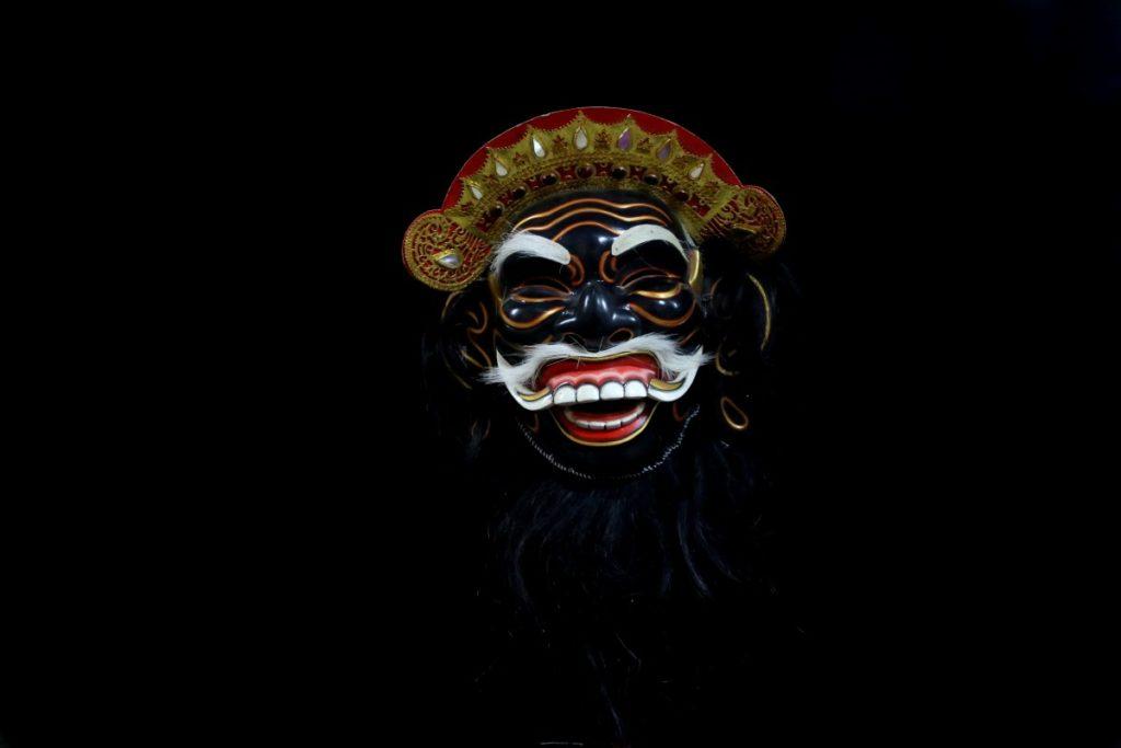 Sidakarya - Topeng - Bali - Mes Indes Galantes