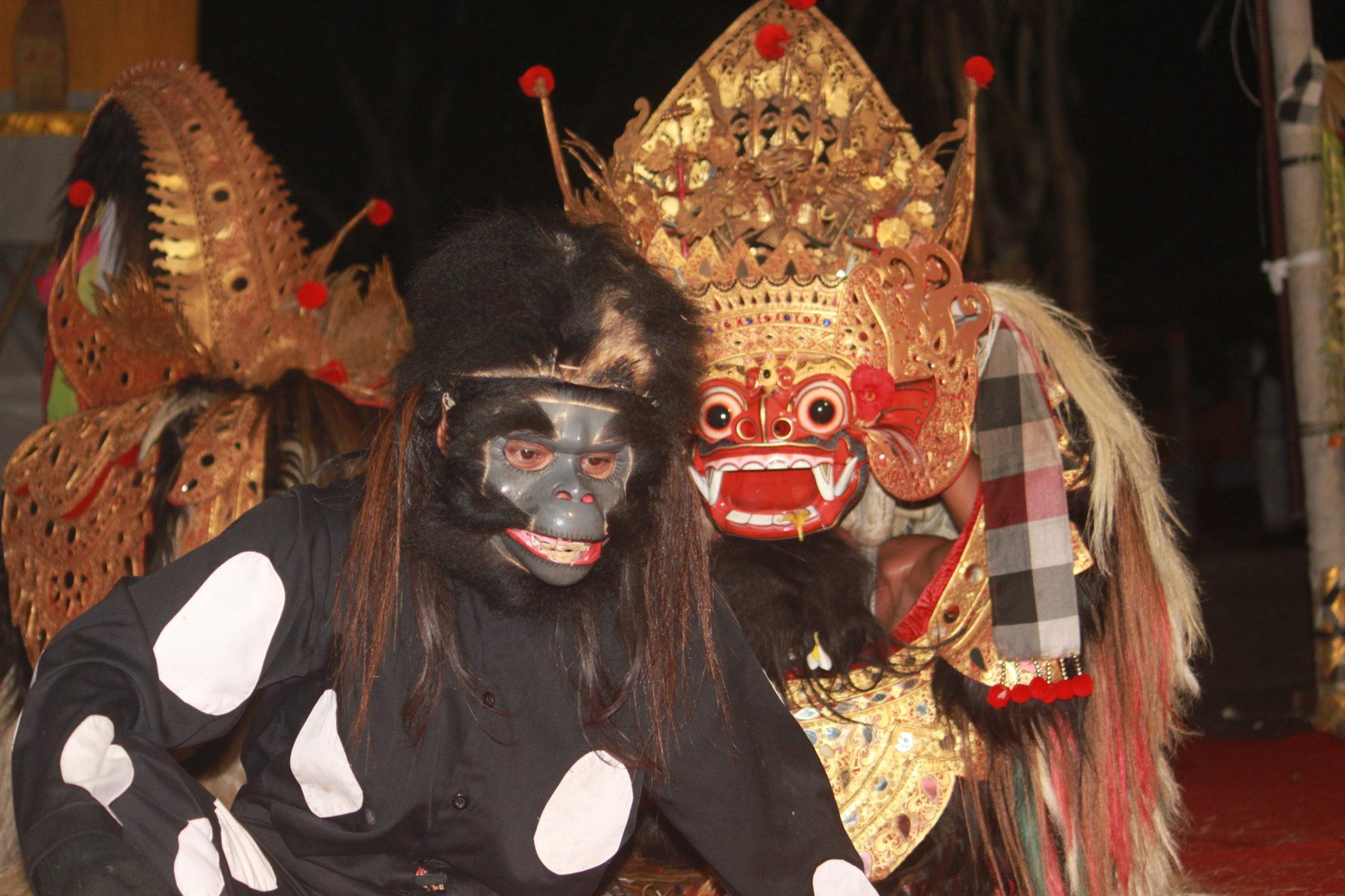 Topeng - Hanuman - Mes Indes Galantes