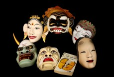 Le topeng, masque de légende