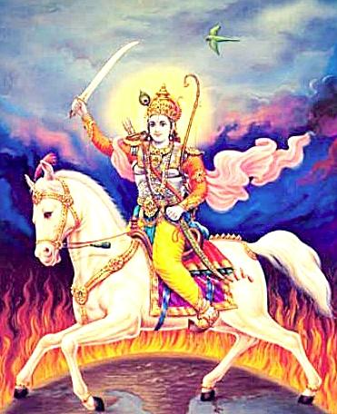 Kalki Vishnu Préservateur Avatars Krishna Rama