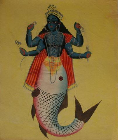 poisson matsya avatars Vishnu