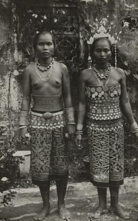 dayak Bornéo