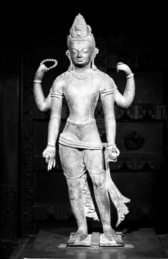 avalokiteshvara bronze calcuta musée