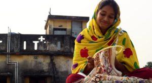 Khanta Broderie indienne Inde Vêtements Achat Mes Indes Galantes
