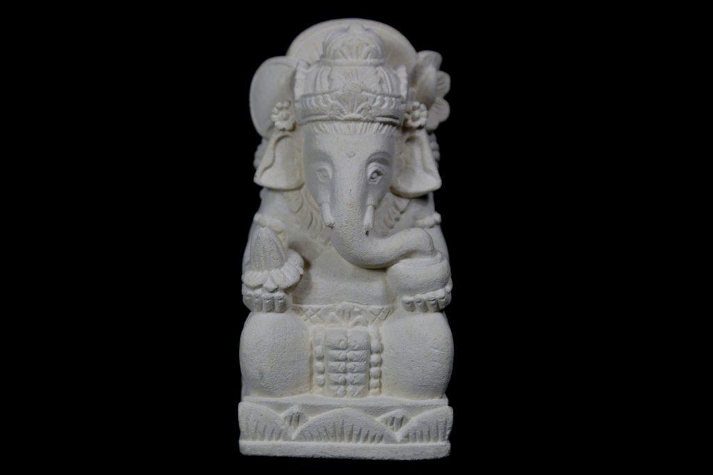 Statuette Ganesh pierre  achat Mes Indes Galantes
