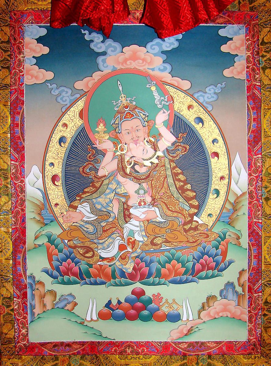 Guru-Rinpoche-Mandarava