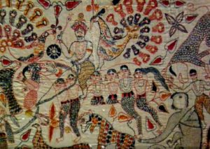 Kantha Bouddha Broderie indienne Mes Indes Galantes