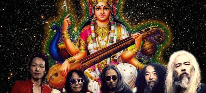 saraswati artiste musicien déesse connaissance Brahma