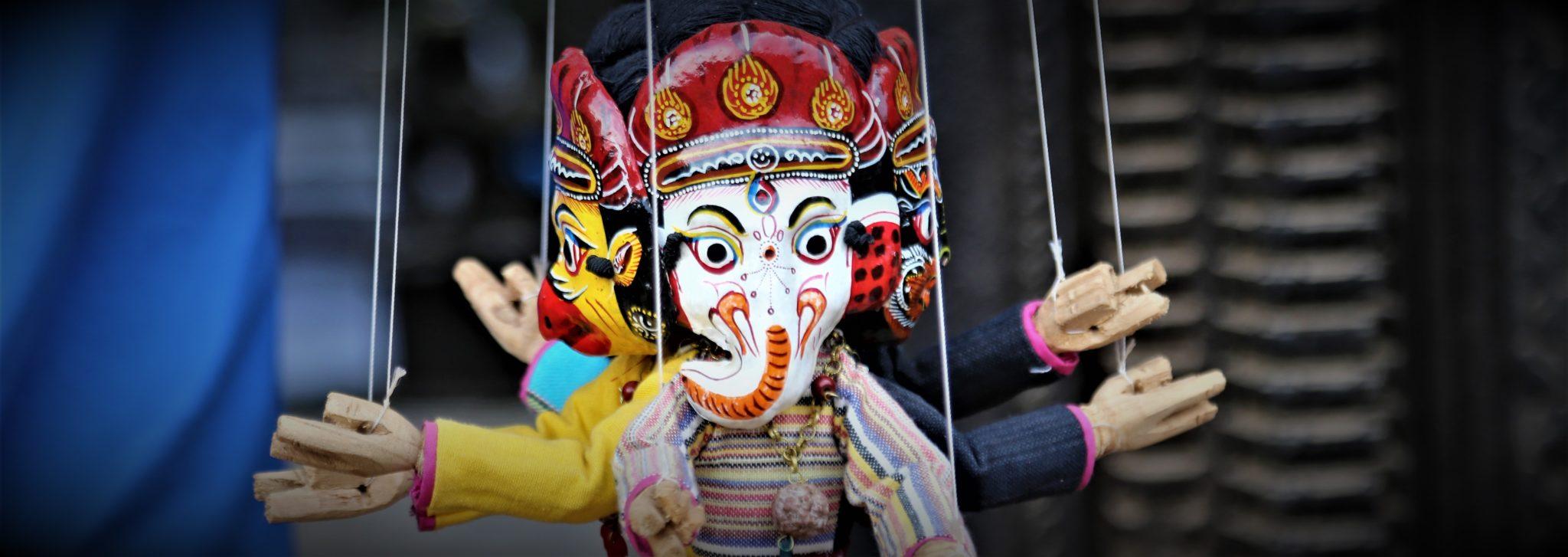 Ganesh  masque Népal achat paris MES INDES GALANTES