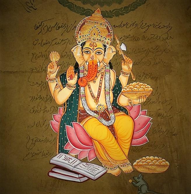 ganesh peinture Rajasthan