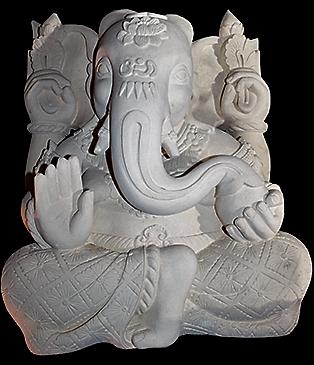 statue ganesh pierre achat MES INDES GALANTES PARIS