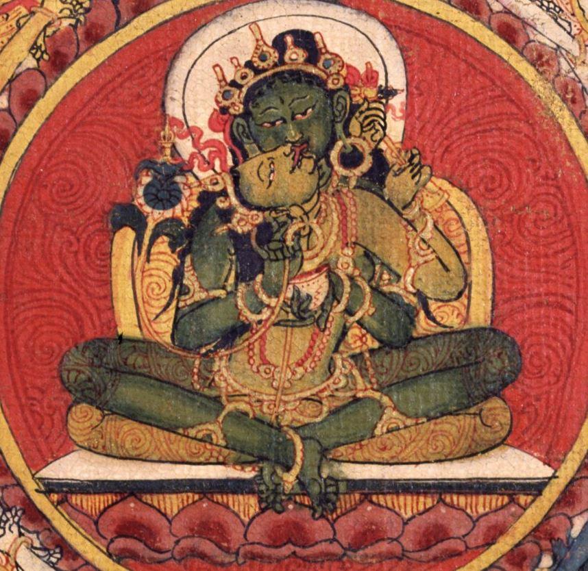 tara verte  bouddha Amoghasiddhi yab yum