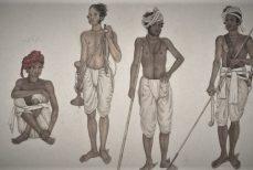 Homme Raaja : le longhi, le dhoti, le veshti.