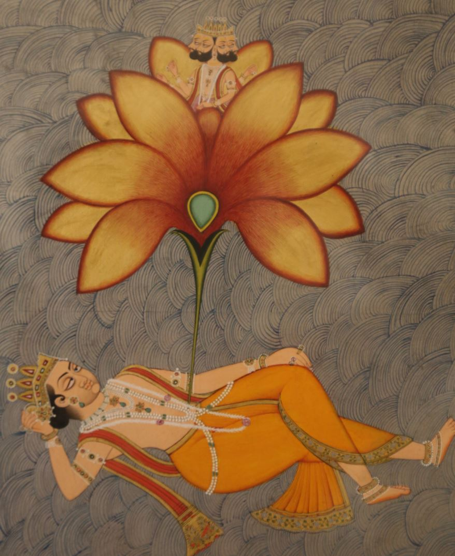vishnu naissance brahma