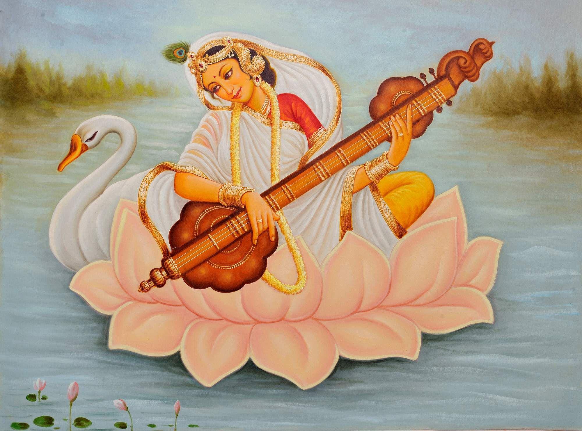 saraswati achat paris déesse connaissance Brahma