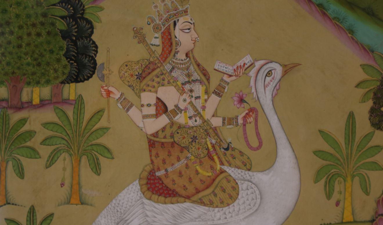 manuscrit hindouiste