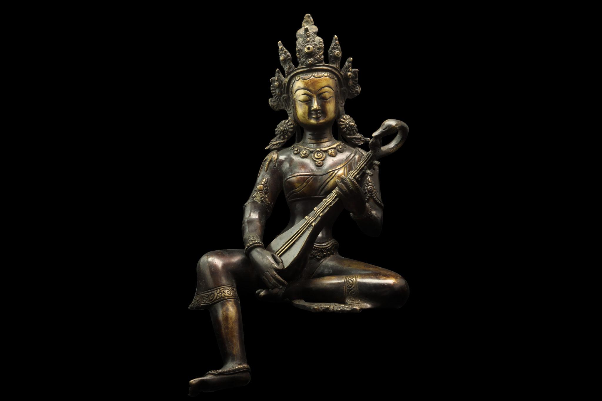statuette saraswati achat paris mes indes galantes