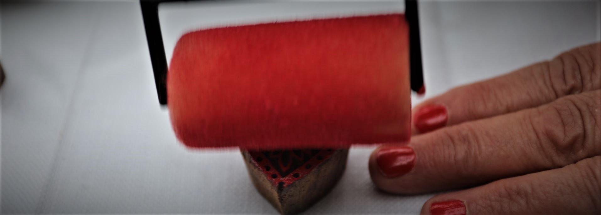 tampon de bois indien art créatif
