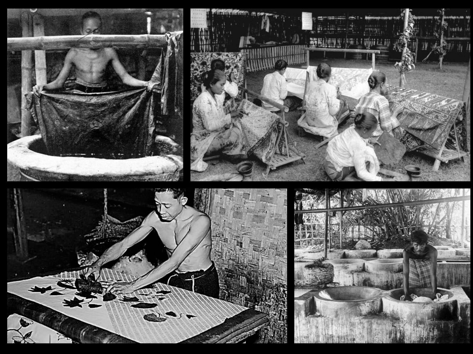 fabrication batik
