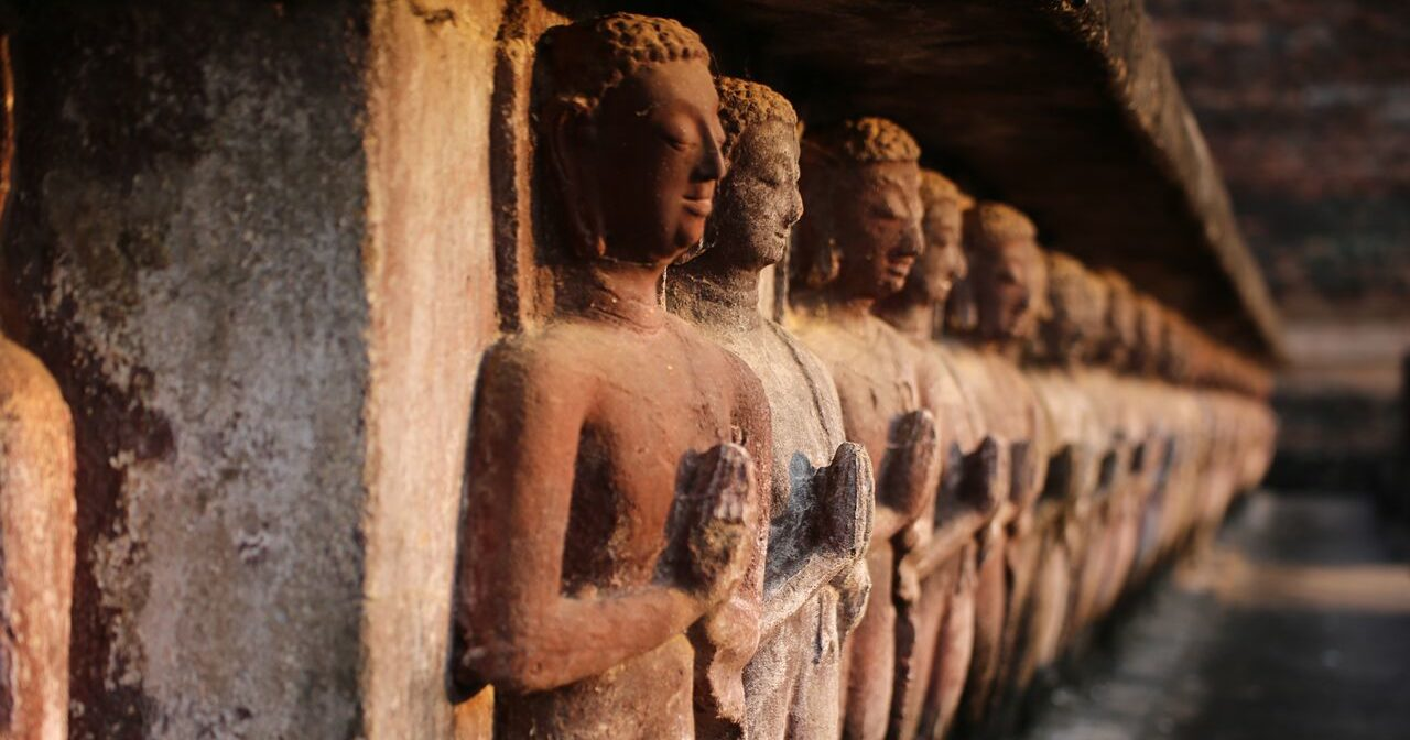 28 Bouddhas - Mes Indes Galantes - Achat - Statues