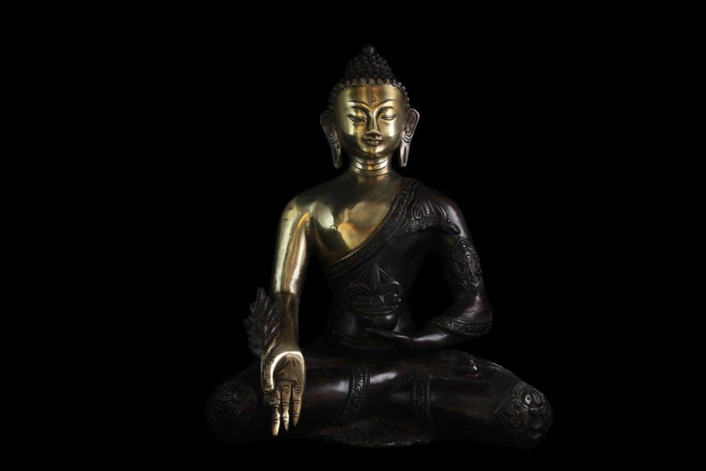statue bronze Bhaisajyaguru Tibet achat Paris Mes Indes Galantes