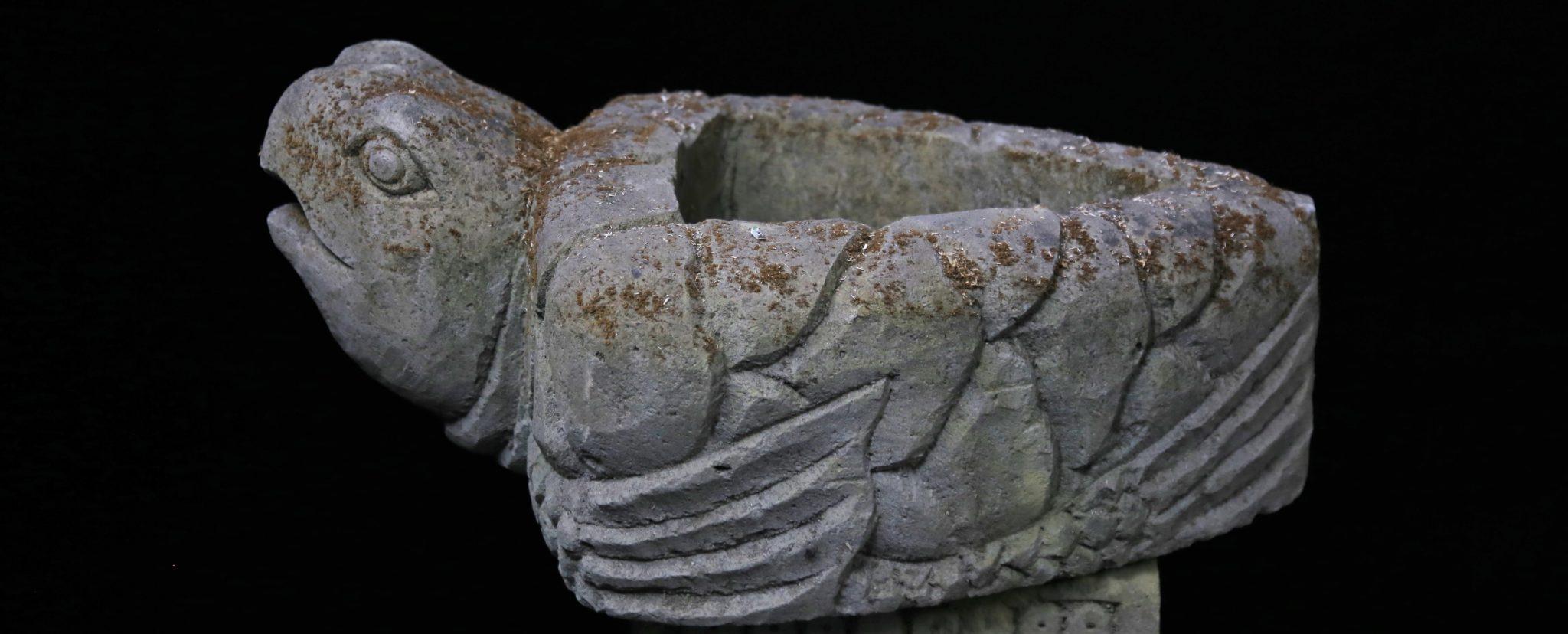 Vasque en pierre Tortue - Bali - Boutique Mes Indes Galantes