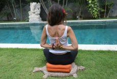 Yoga Family à Bali