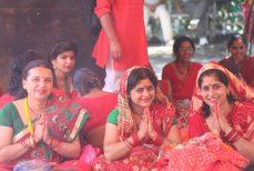 Festival du Teej Hommage à la beauté des femmes Népalaises