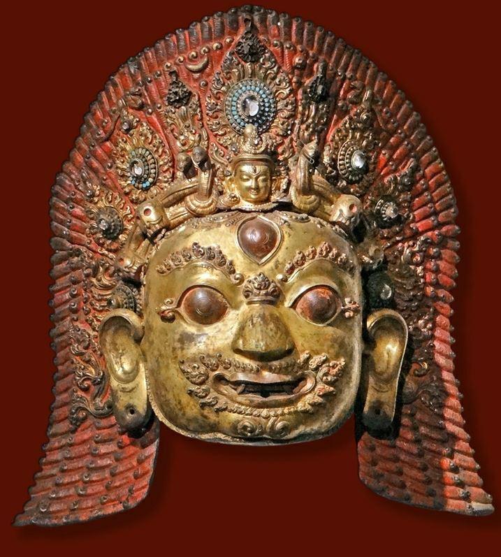 masque bhairava musée guimet