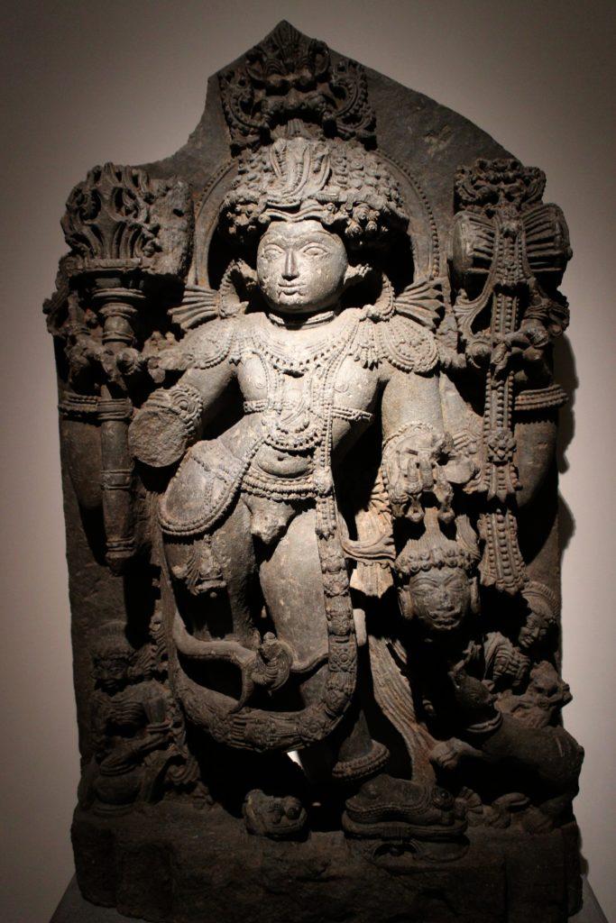 dieu statue bhairava signification